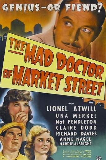 Poster of The Mad Doctor of Market Street