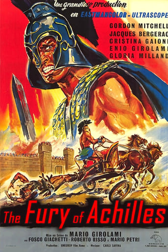 Poster of Fury of Achilles
