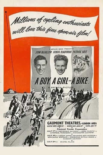 Poster of A Boy, a Girl and a Bike
