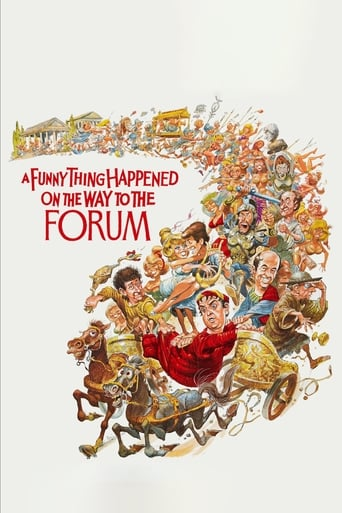 A Funny Thing Happened on the Way to the Forum (1966) - poster