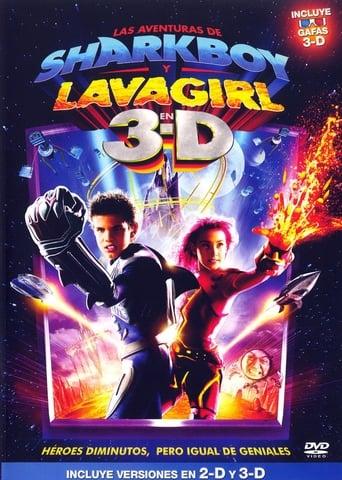 Poster of Las aventuras de Sharkboy y Lavagirl