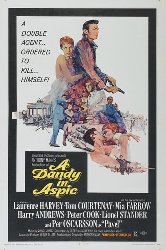 A Dandy in Aspic Movie Poster