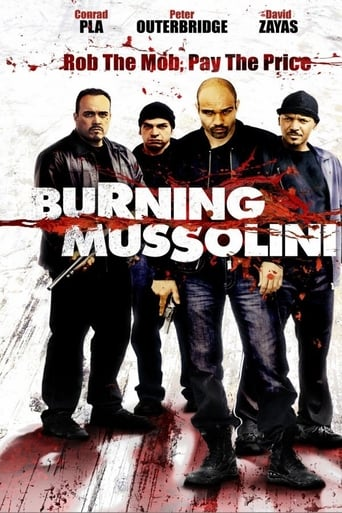 Poster of Burning Mussolini