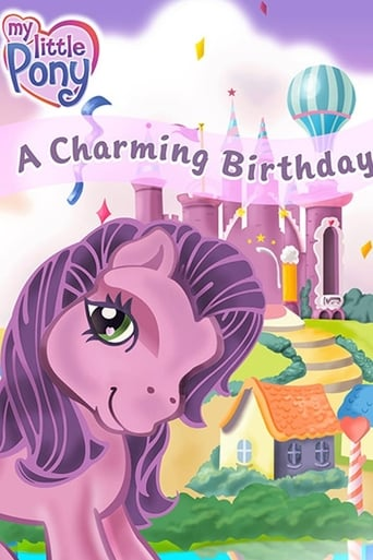 Poster of My Little Pony: A Charming Birthday
