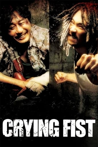 Poster Crying Fist
