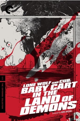 Poster of Lone Wolf and Cub: Baby Cart in the Land of Demons