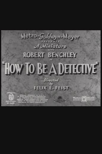 Poster of How to Be a Detective