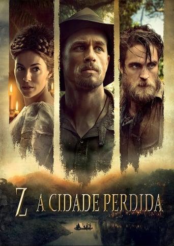 Z: A Cidade Perdida - Poster