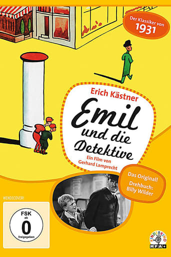 Poster of Emil and the Detectives