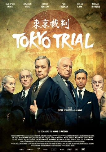 Poster of Tokyo Trial