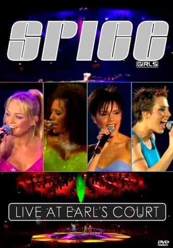 Poster of Spice Girls: Live at Earls Court - Christmas in Spiceworld