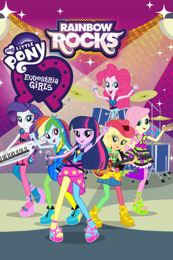 Poster of My Little Pony: Equestria Girls - Rainbow Rocks