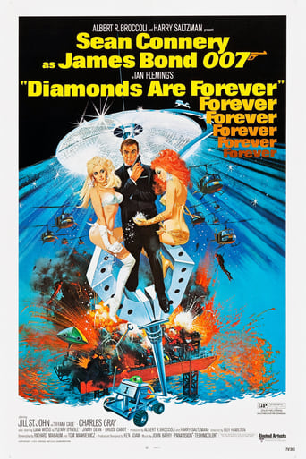 Diamonds Are Forever (1971) - poster