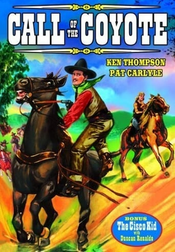 Poster of Call of the Coyote: A Legend of the Golden West