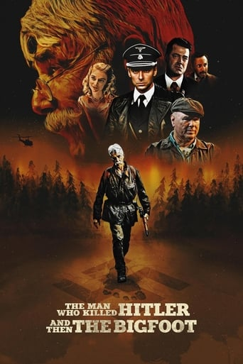 Poster of The Man Who Killed Hitler and Then the Bigfoot