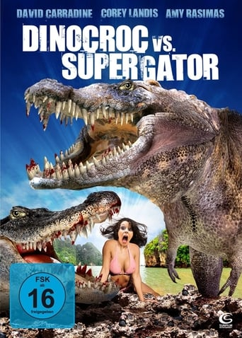 Poster of Dinocroc vs. Supergator