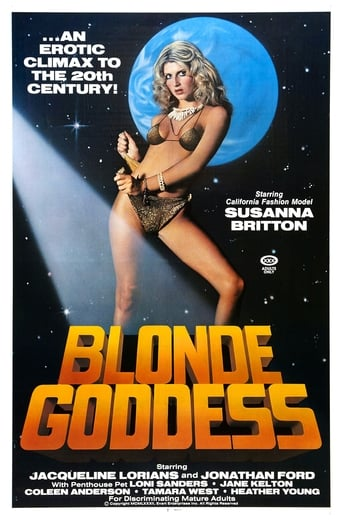 Poster of Blonde Goddess