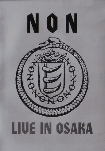 Poster of NON: Live in Osaka