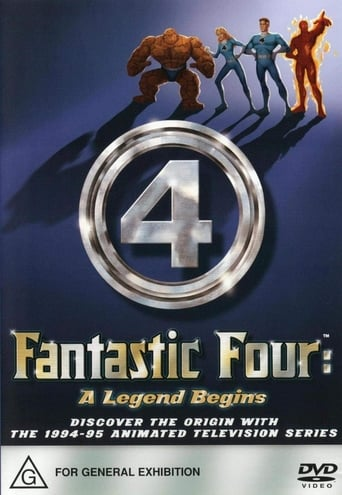 The Fantastic Four - A Legend Begins Movie Poster