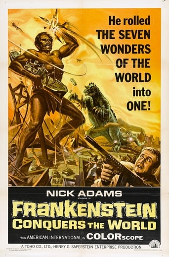 Poster of Frankenstein Conquers the World