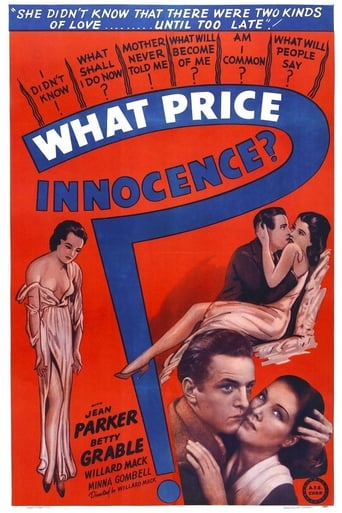 Poster of What Price Innocence?