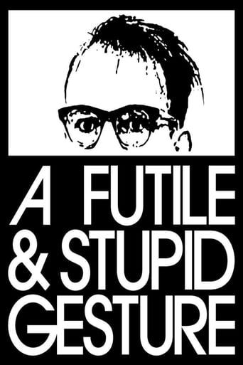 Poster of A Futile & Stupid Gesture