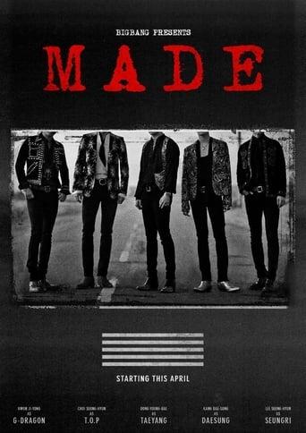 Big Bang MADE Tour Movie Poster