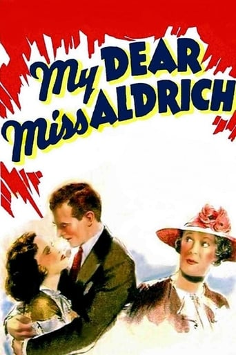 Poster of My Dear Miss Aldrich