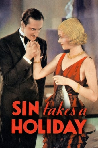 Poster of Sin Takes a Holiday