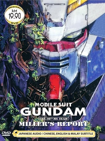Poster of Mobile Suit Gundam : The 08th MS Team, Miller's Report