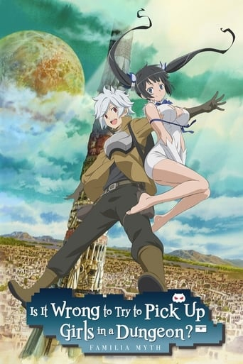 Poster of Is It Wrong to Try to Pick Up Girls in a Dungeon?