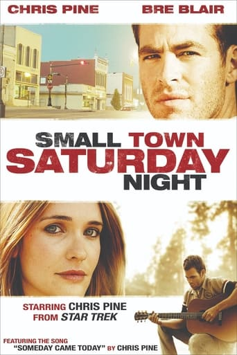 Poster of Small Town Saturday Night
