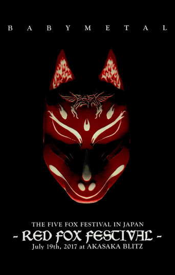 Poster of Babymetal - The Five Fox Festival in Japan - Red Fox Festival