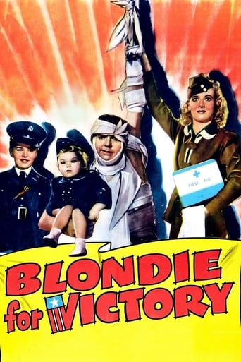 Poster of Blondie for Victory