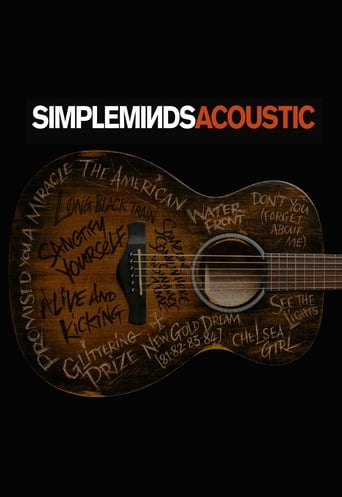 Simple Minds - Acoustic in Concert Movie Poster