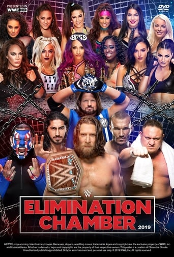 Poster of WWE Elimination Chamber 2019