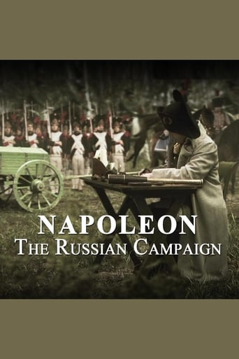 Poster of Napoleon.The Russian Campaign