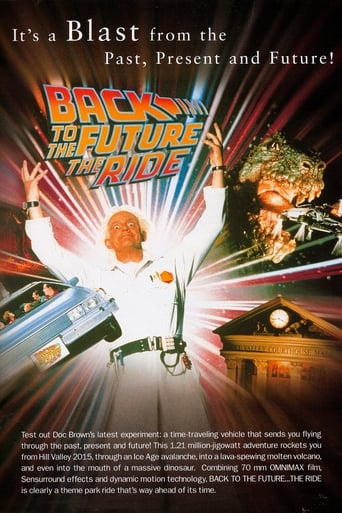 Poster of Back To The Future... The Ride