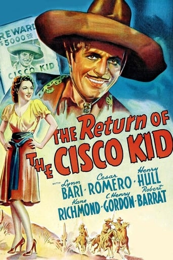 Poster of The Return of the Cisco Kid