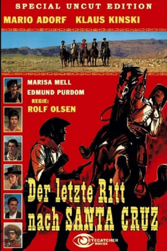 The Last Ride to Santa Cruz Movie Poster