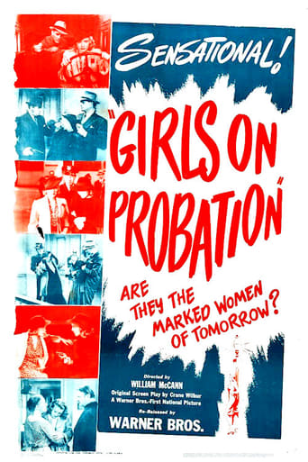 Girls on Probation Movie Poster
