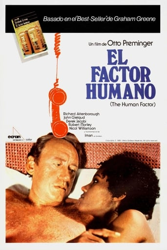 Poster of El factor humano