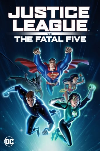 Justice League vs the Fatal Five Poster