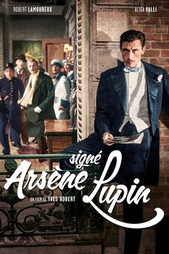 Poster of Signé Arsène Lupin