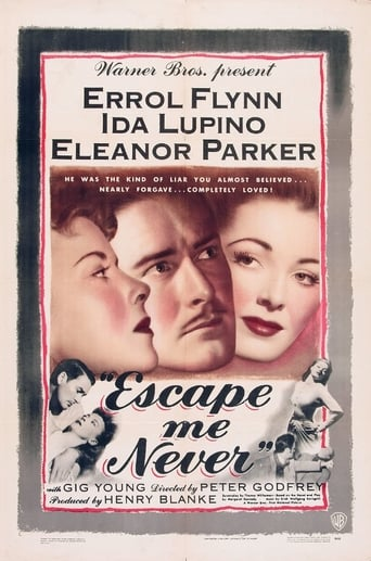 Poster of Escape Me Never