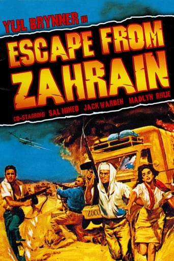 Poster of Escape from Zahrain