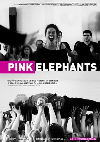 Poster of Pink Elephants