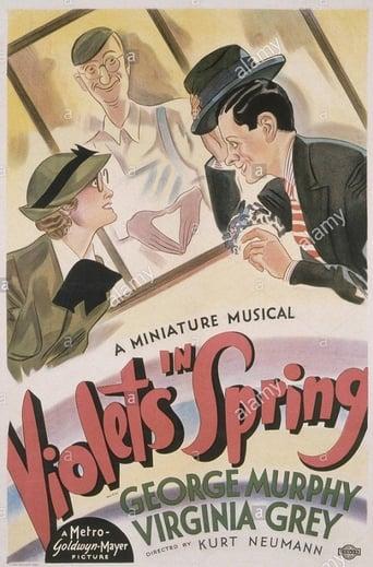 Poster of Violets in Spring