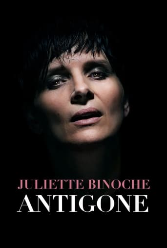 Poster of Antigone at the Barbican