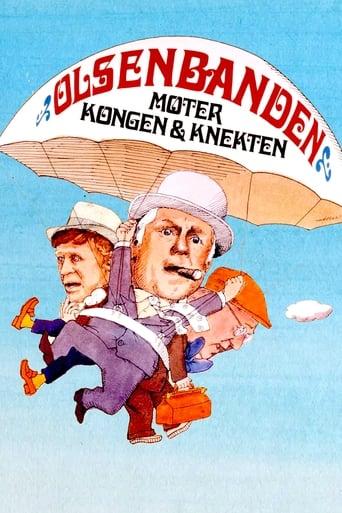 Poster of Olsenbanden møter Kongen og Knekten
